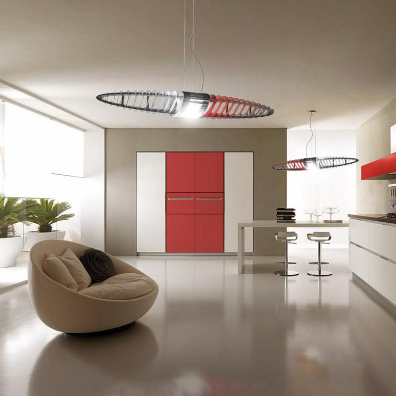 queen titania pendelleuchte designerleuchte d17q luceplan. Black Bedroom Furniture Sets. Home Design Ideas
