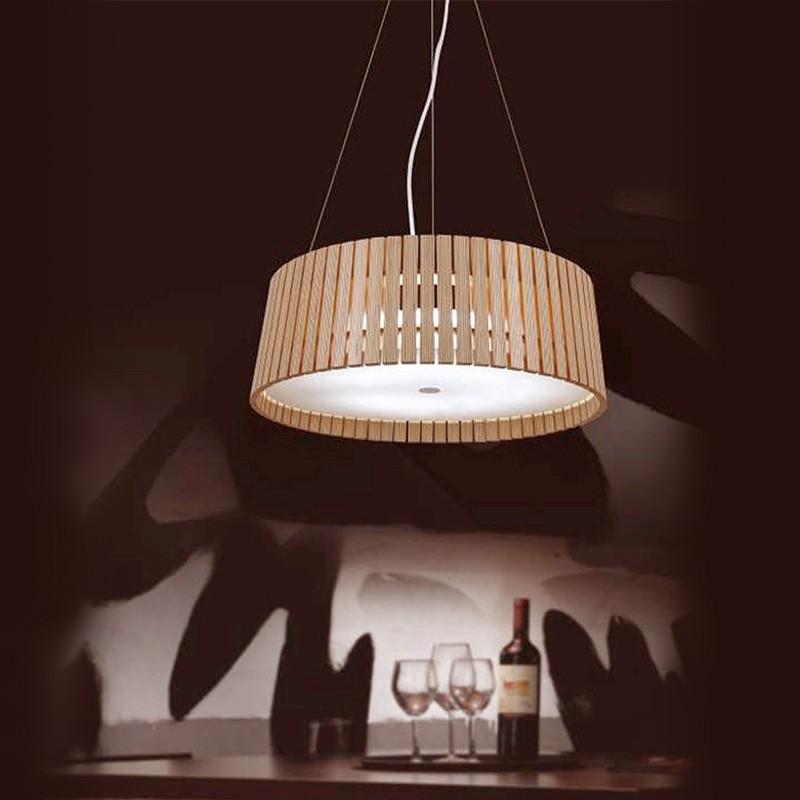 deckenlampe aus holz d nische vintage deckenlampe aus. Black Bedroom Furniture Sets. Home Design Ideas